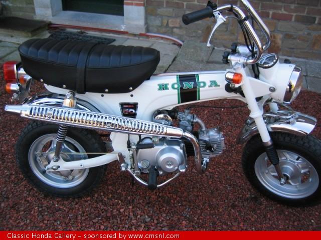 honda dax st50 belgium type 1973