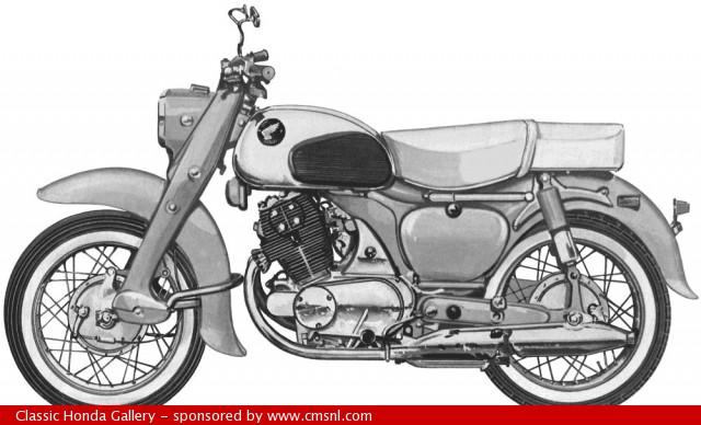 A very nice 1967 Honda Dream