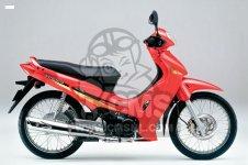 Honda ANF125 Części