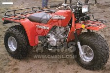 Honda ATC250ES BIG RED 1988