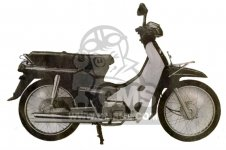 Honda C100M2 ASTREA INDONESIA