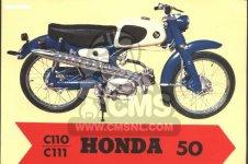 Honda C110 GENERAL EXPORT 140115