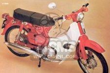 Honda C90 CUB ENGLAND