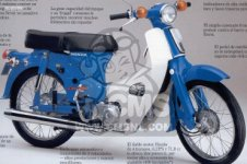 Honda C90 ZC General Export - Diagrama Eléctrico