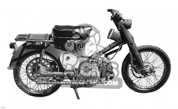 CA105T TRAIL 1963 USA