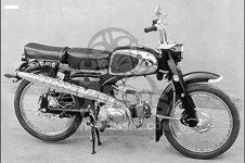 Honda CA110 1962 USA