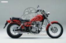Honda CA125 REBEL 1995 (S) 1996 (T) AUSTRIA / KPH parts