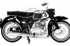 honda ca touring usa parts list partsmanual partsfiche honda ca160 touring 1966 usa