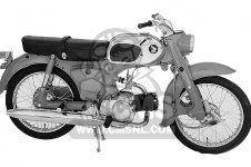 Honda Ca200 Honda 90 1963 Usa parts list partsmanual ...