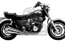 Honda CB1000C 1000 CUSTOM 1983 D USA