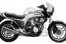 Honda CB1100F SUPER SPORT 1983 D USA