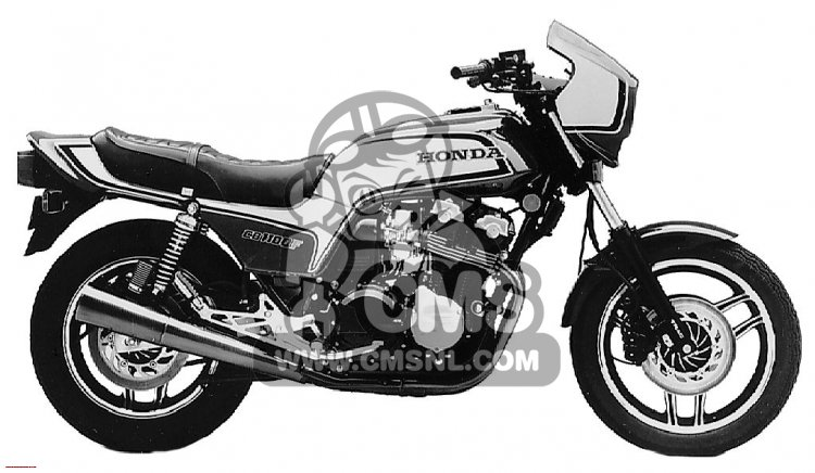 Honda CB1100F SUPER SPORT 1983 USA