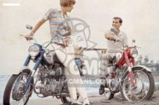 Honda CB125 CB93 GENERAL EXPORT
