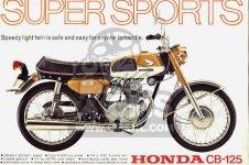 Honda CB125K3