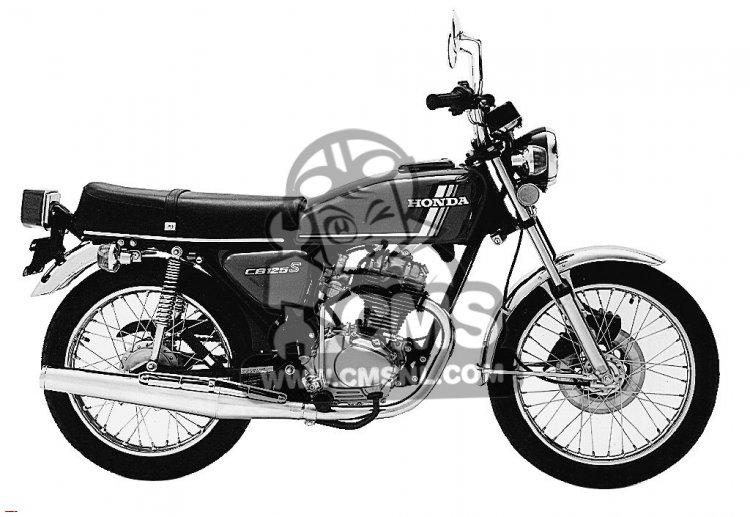 CB125S 1978 USA
