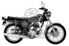 Honda CB125S 1978 USA