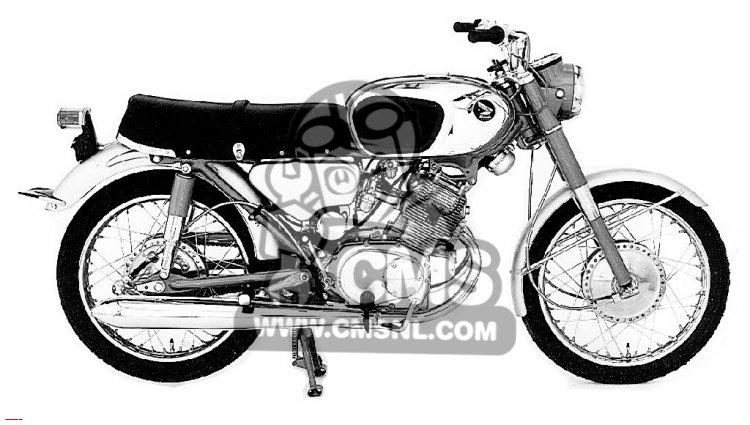 Honda CB160 SPORT 1964 USA
