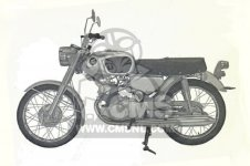 Honda CB175K0 SUPER SPORT parts
