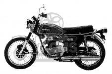 CB200B 1974 USA