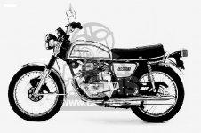 CB200T 1975 USA