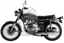 CB200T 1976 USA