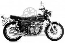 Honda CB350F FOUR 1972 USA