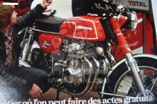 Honda CB350F FOUR FRANCE
