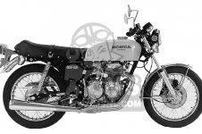 Honda CB400F 1976 USA
