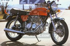 Honda CB400F GENERAL EXPORT KPH parts