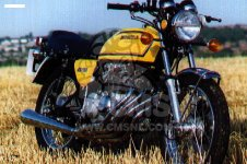 Honda CB400F2 GERMANY