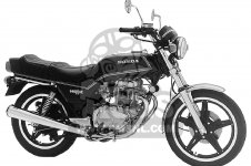 Honda CB400T HAWK 1980 A USA
