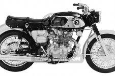 Honda CB450 SUPER SPORT 450 BLACK BOMBER 1965 CB450K0 USA