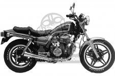 Honda CB450SC NIGHTHAWK 450 1982 C USA