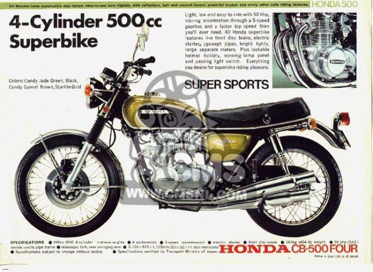 Honda CB500  FOUR