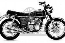 Honda CB500K0 FOUR 1971 USA parts