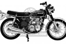 honda cb500k1 four 1972 usa_medium00000460_426b honda cb500k1 four 1972 usa parts list partsmanual partsfiche 1971 Honda CB500 Four Diagrams at readyjetset.co