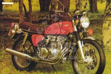 Honda CB550F1 SUPER SPORT 550 FOUR 1976 EUROPEAN DIRECT SALES