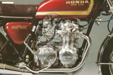 Honda CB550F2 SUPER SPORT 550 FOUR 1977 EUROPEAN DIRECT SALES