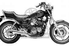 CB550SC NIGHTHAWK 1983 (D) USA