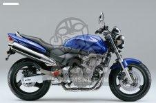 Honda CB600F HORNET 2000 Y EUROPEAN DIRECT SALES KPH STD 34P