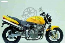 Honda CB600F HORNET 2002 2 FRANCE KPH 34P