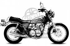 Honda CB650 1981 B USA
