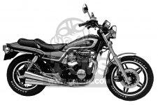 Honda CB650SC NIGHTHAWK 650 1982 C USA