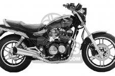 Honda CB650SC NIGHTHAWK 650 1983 D USA