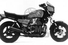 Honda CB700SC NIGHTHAWK S 1986 G USA