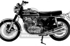 Honda CB750 FOUR 1973 CB750K3 USA