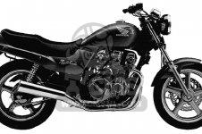 Honda CB750 NIGHTHAWK 1991 USA