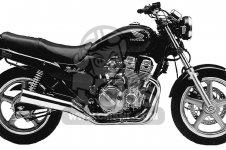 Honda CB750 NIGHTHAWK 1992 N USA