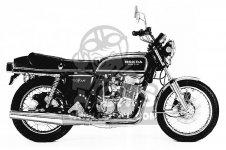 Honda CB750F 750 SUPER SPORT 1976 USA