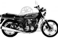 Honda CB750F 750 SUPER SPORT 1978 USA